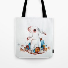 Very big rabbit Tote Bag