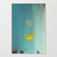 Under Da Glitch PT.2: A … Canvas Print