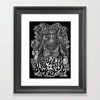 Knowledge is King... Framed Art Print