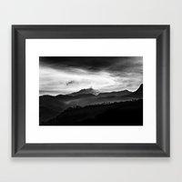 Hephaestos Valley Framed Art Print