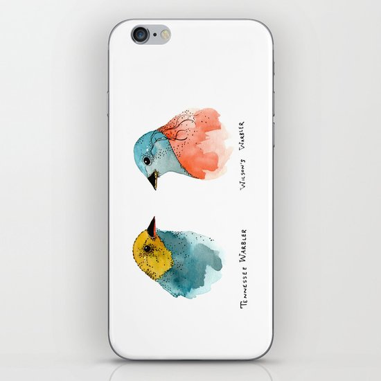 TWO WARBLERS iPhone & iPod Skin
