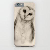 Barn Owl Sketch iPhone 6 Slim Case