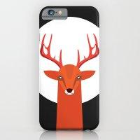 Deer and Moon iPhone 6 Slim Case