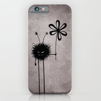 iPhone & iPod Case featuring Evil Flower Bug by Boriana Giormova
