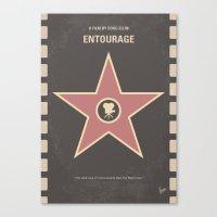 No525 My Entourage Minim… Canvas Print