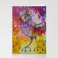 BiRD- JUSTART © Stationery Cards