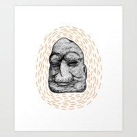 Figurehead Art Print