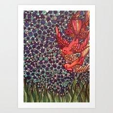 Song Birds Art Print