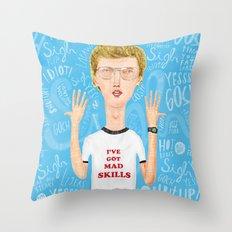 Napoleon, what do you think? Gosh! Throw Pillow