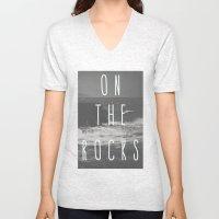 On The Rocks Unisex V-Neck