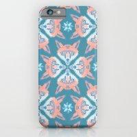 Pastel Fox Pattern iPhone 6 Slim Case