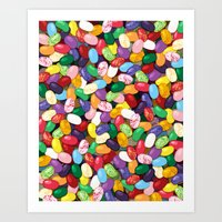 Jellybeans Art Print