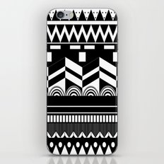 Graphic_Black&white #2 iPhone & iPod Skin