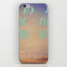 Where the wind blows iPhone & iPod Skin
