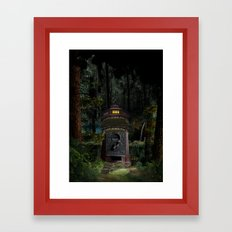 WOOD Framed Art Print