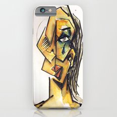 Crying woman iPhone 6 Slim Case
