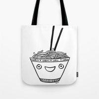 Happy Noodles Tote Bag