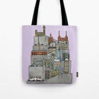 London Rising Tote Bag