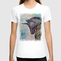 unicorn T-shirts featuring Dark Unicorn by Michael Creese