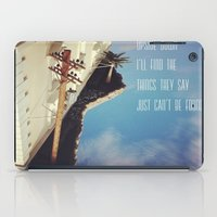 Upside Down Inspiration iPad Case