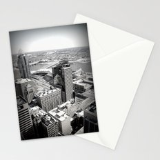 Cincinnati - Downtown #3 Stationery Cards