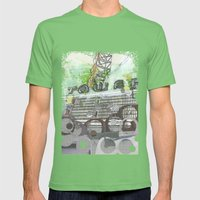 Bittersweet Mens Fitted Tee Grass SMALL