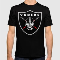 Oakland Vaders Mens Fitted Tee Black SMALL