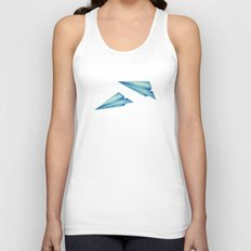 High Flyer   Origami   Simplified Unisex Tank Top