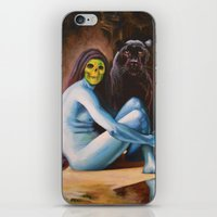 Seated Sorcerer iPhone & iPod Skin