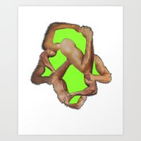 fist pump Art Print
