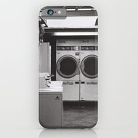 clean laundry iPhone 6 Slim Case