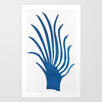 Spindle Fingers Art Print