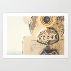 fo·cus ... Art Print