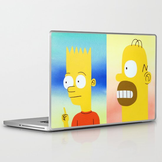 Father and Son Laptop & iPad Skin