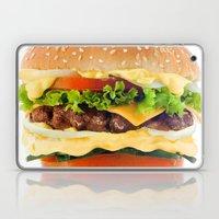 Cheeseburger YUM Laptop & iPad Skin