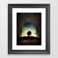 One With The Universe Framed Art Print