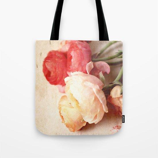 Romantic Heart Tote Bag