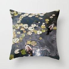 It's a duck's life Throw Pillow