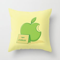 Marketing power Throw Pillow