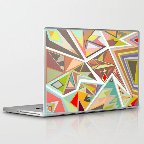 Shattered Glass Laptop & iPad Skin