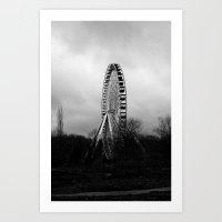 FAIRGROUND I Art Print