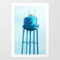 Smiley Art Print