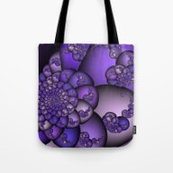 Perplexity Of Purple Tote Bag