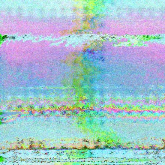 08-24-89 (Digital Drawing Glitch) Art Print