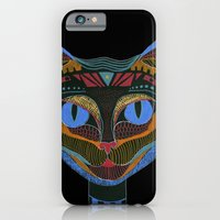 iPhone & iPod Case featuring Black CAT by Süyümbike Güvenç
