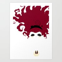 The Imaginary Friend Art Print