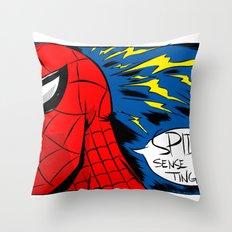 The Spidey Sense Throw Pillow