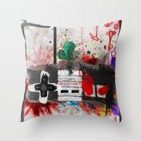 RETRO NES Throw Pillow
