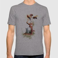 Bumblebee Mens Fitted Tee Athletic Grey SMALL