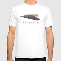Reverent Mens Fitted Tee White SMALL